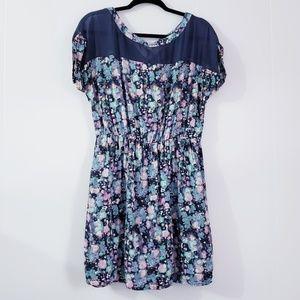 Lauren Conrad Empire Waist Swing Floral Dress 10